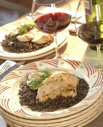 Rangitikei Chicken Breasts With Lentils