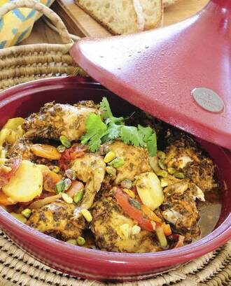 Rangitikei Chicken & Saffron Tagine