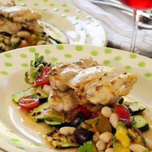 Rangitikei Thigh Fillet With Sea Salt & Provencale Salad