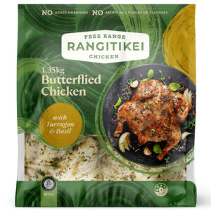 Rangitikei Butterflied Chicken with Tarragon & Basil